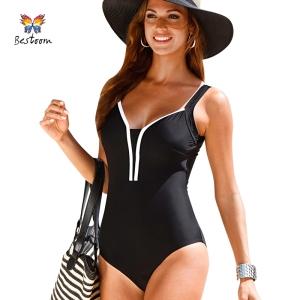 One-Piece-Swimsuit-Plus-Size-Swimwear-Women-Swim-Suit-2016-New-Arrival-High-Waist-Vintage-Retro
