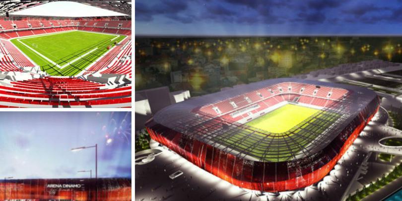 noul stadion dinamo