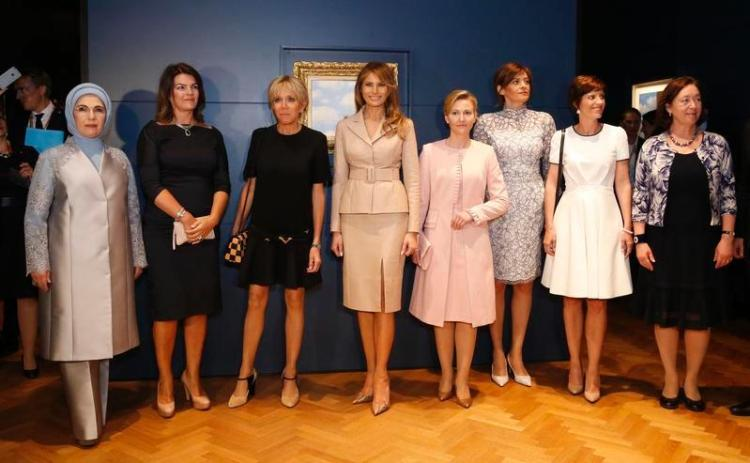 lady-melania-trump-visits-magritte-museum-brussels