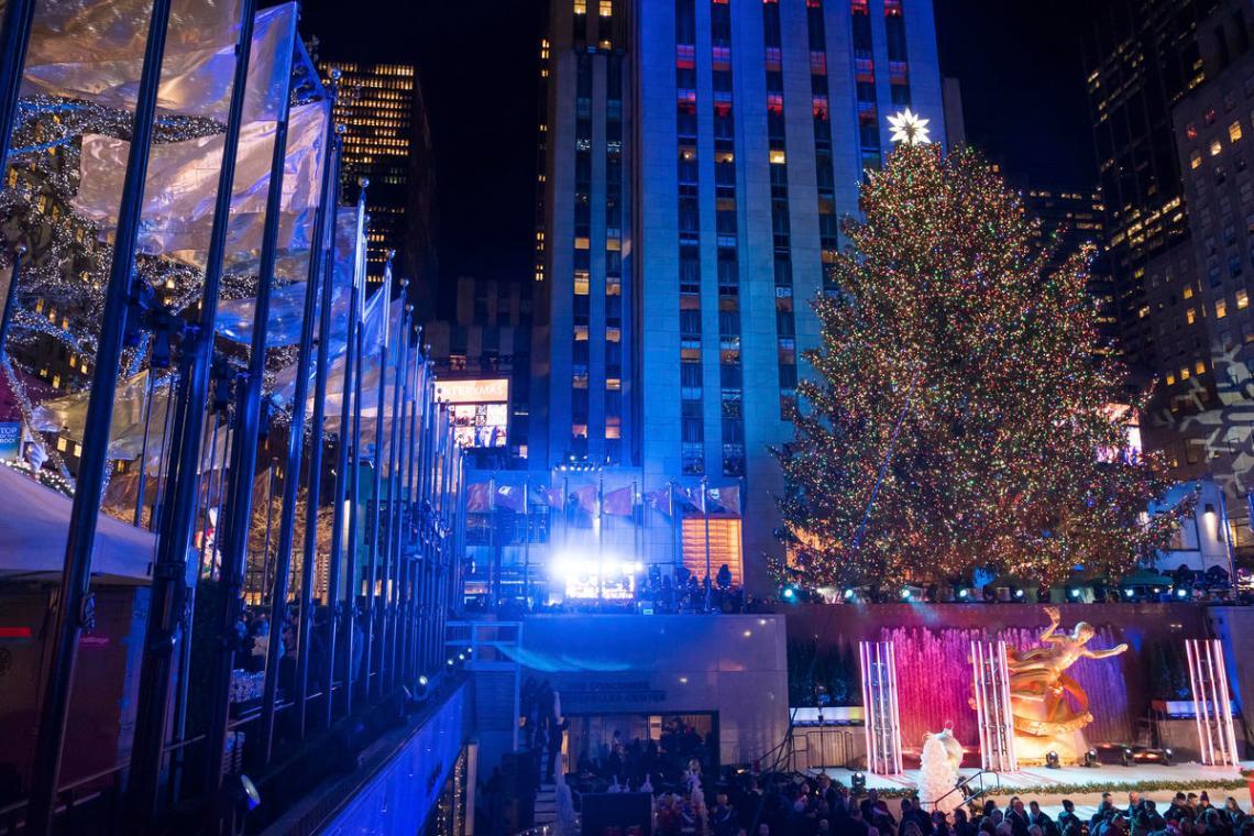 2017 Rockefeller Center Christmas Tree Lighting Ceremony