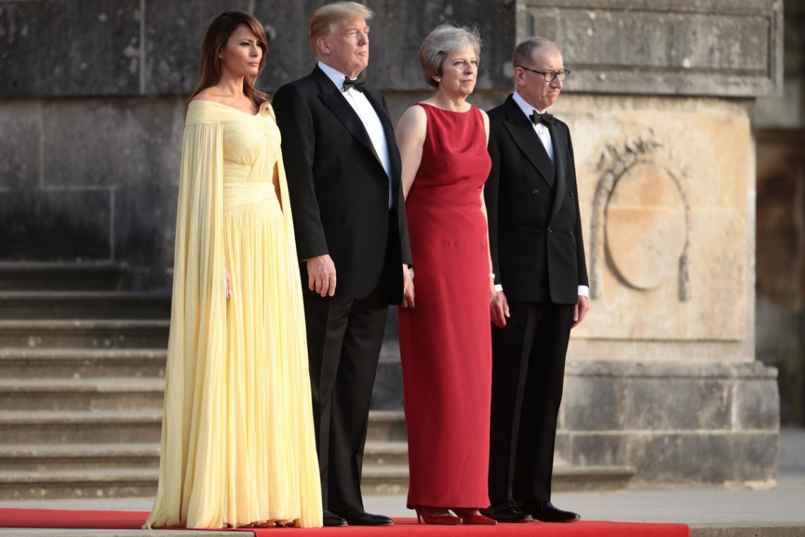 melania-trump-donald-trump-theresa-may