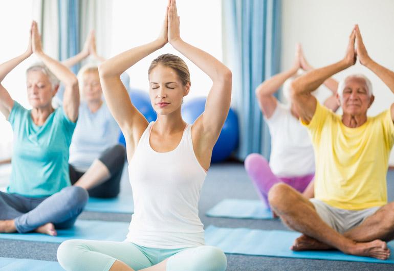 Gesundheitswerkstatt-Yoga